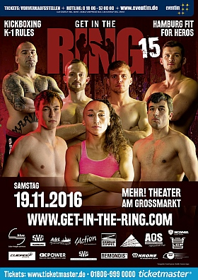 Get in the Ring Kickboxen 2016 Mehr Theater Hamburg