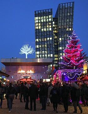 Santa Pauli 2016 Hamburg Weihnachtsmarkt Winterdeck Spielbudenplatz