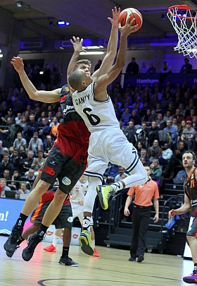 Hamburg Towers Niners Chemnitz Basketball ProA 2016