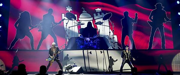 Scorpions Konzert Arena Hamburg 2016
