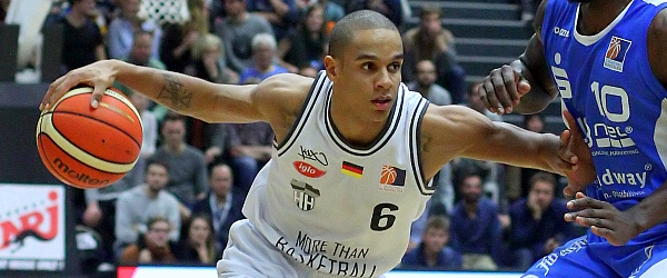 Hamburg Towers Dresden Titans Basketball ProA 2016