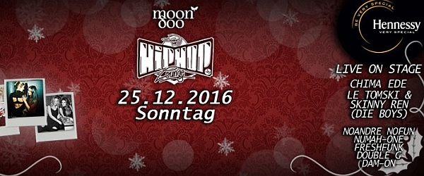 The Hip Hop Lounge Moondoo Hamburg 2016