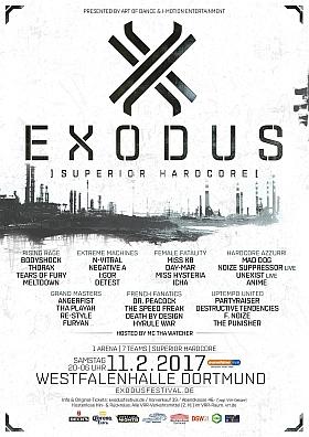 Exodus 2017 Festival Westfalenhallen Dortmund