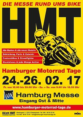 Hamburger Motorrad Tage 2017 Messe