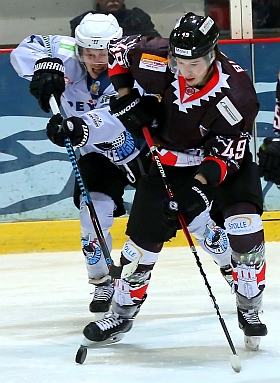 Crocodiles Hamburg Icefighters Leipzig Eishockey 2017