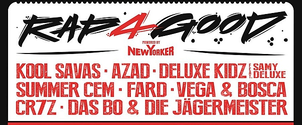 Rap4Good 2017 Barclaycard Arena Hamburg