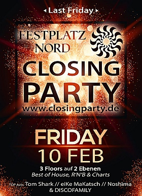 Closing Party 2017 Festplatz Nord Hamburg