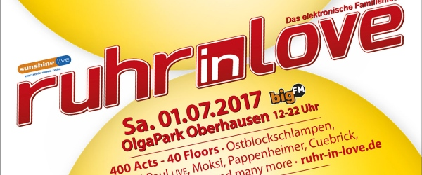 Ruhr In Love Festival 2017 OlgaPark Oberhausen