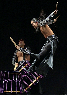 TAO Samurai Drums Wadaiko Trommel Konzert Hamburg 2017