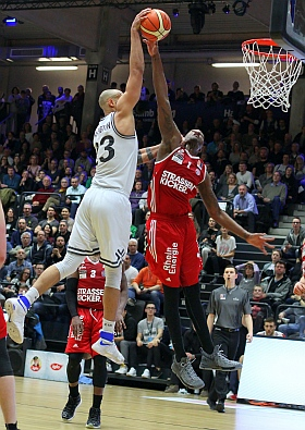 Hamburg Towers RheinStars Köln Basketball ProA 2017