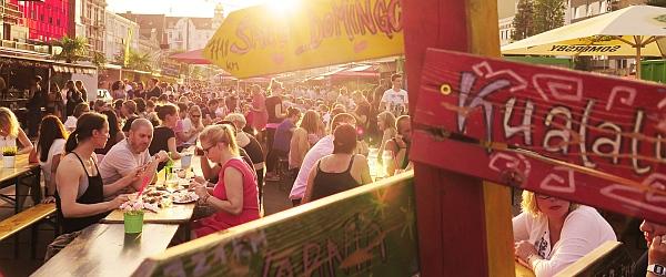 Spielbudenplatz Hamburg Angrillen Sankt Pauli Nachtmarkt
