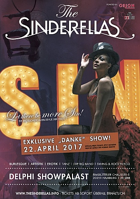 The Sinderellas Burlesque Revue 2017 Hamburg