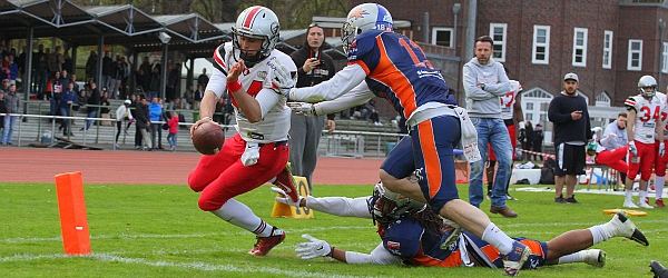 Hamburg Huskies Rostock Griffins GFL 2017 Football