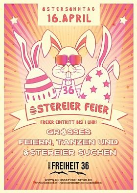 Ostereier Feier 2017 Grosse Freiheit 36 Hamburg