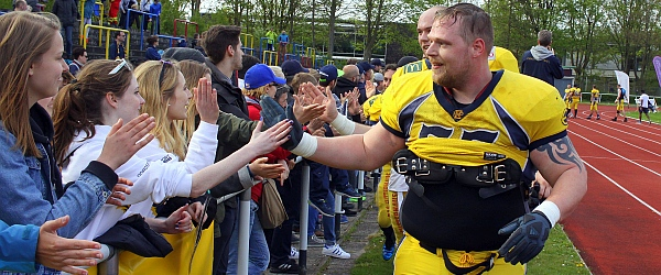 Elmshorn Fighting Pirates Oldenburg Knights Football 2017