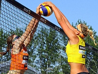 smart beach tour Hamburg Rothenbaum Volleyball 2016