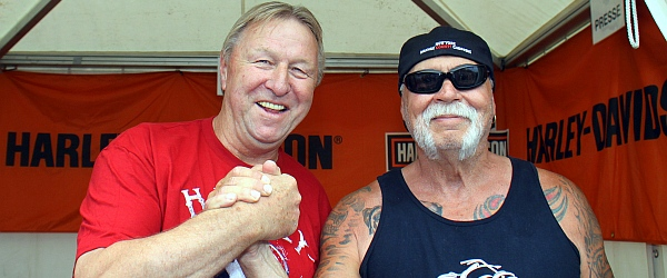 Hamburg Harley Days 2016 Horst Hrubesch Paul Teutul Senior