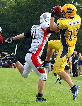 Elmshorn Fighting Pirates Braunschweig Lions American Football 2017