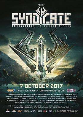 Syndicate 2017 Festival Westfalenhallen Dortmund