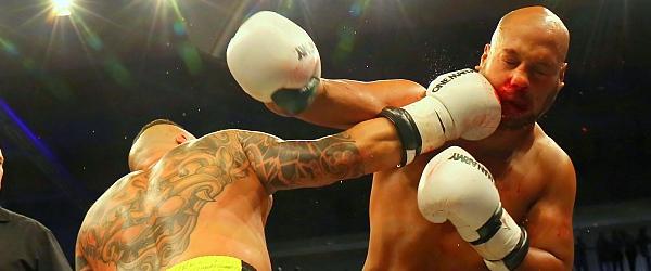 One Man Series 2017 Kickboxen Inselparkhalle Hamburg