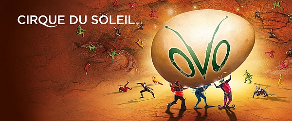 Cirque Du Soleil Ovo At Barclaycard Arena Hamburg