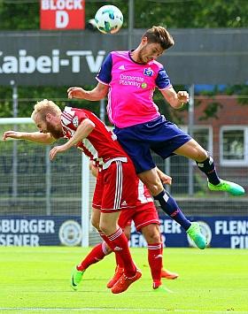 Eintracht Norderstedt HSV U21 Hamburg Fussball Regionalliga 2017
