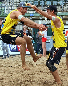 smart beach tour Hamburg Rothenbaum Volleyball 2017