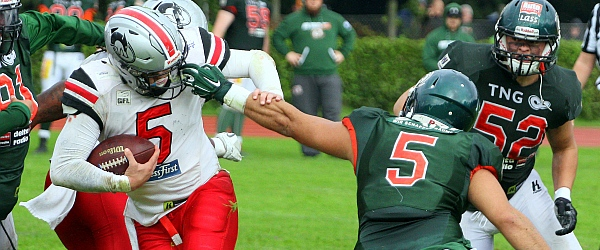 Hamburg Huskies Kiel Baltic Hurricanes Football GFL 2017
