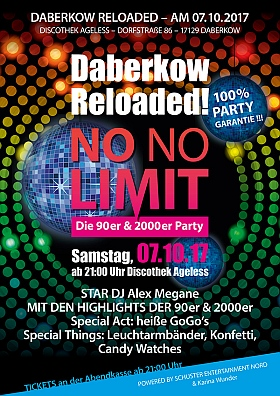Daberkow Reloaded 2017 Discothek Ageless