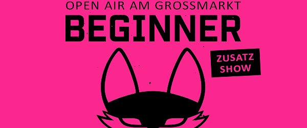 Beginner Open Air Grossmarkt Hamburg 2018