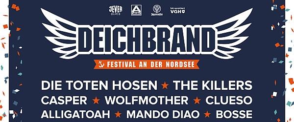 Deichbrand Festival 2018 Cuxhaven Nordholz
