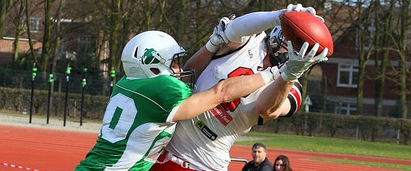 Hamburg Huskies Bielefeld Bulldogs GFL 2018 Football