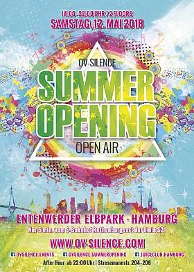 ov silence Summer Opening 2018 Entenwerder Elbpark Hamburg