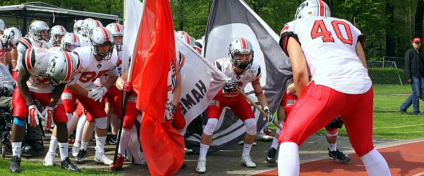 Hamburg Huskies Kiel Baltic Hurricanes Football GFL 2018