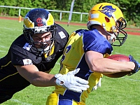 Elmshorn Fighting Pirates Berlin Adler GFL American Football 2018