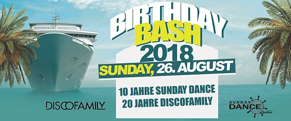 SunDay Dance Bootsparty Discofamily 2018 Hafen Hamburg