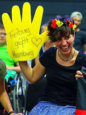 Rollstuhl Basketball WM 2018 Hamburg