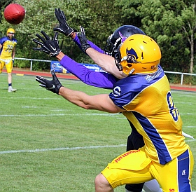 Elmshorn Fighting Pirates Langenfeld Longhorns GFL American Football 2018