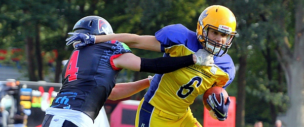 Elmshorn Fighting Pirates Solingen Paladins GFL American Football 2018