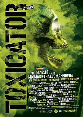 Toxicator 2018 Maimarkthalle Mannheim
