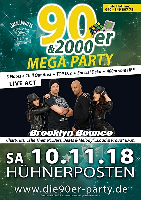90er 2000er Mega Party Brooklyn Bounce Huehnerposten Hamburg 2018