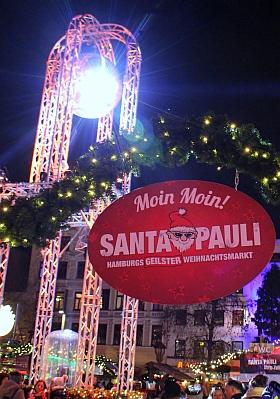 Santa Pauli 2018 Hamburg Weihnachtsmarkt Spielbudenplatz