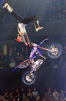 Night of Freestyle Barclaycard Arena Hamburg 2019 Motocross FMX BMX