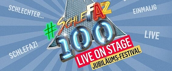SchleFaZ Live Jubilaeum Festival 2019 Tempodrom Berlin