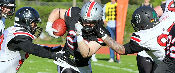 Hamburg Huskies Oldenburg Knights American Football 2019