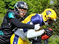 Elmshorn Fighting Pirates Hannover Spartans GFL American Football 2019
