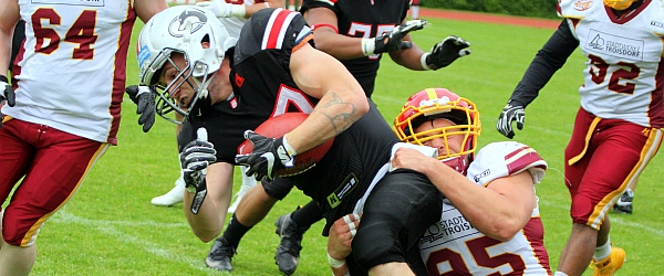 Hamburg Huskies Troisdorf Jets GFL 2019 Football
