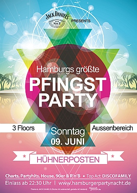Hamburg Pfingstparty 2019 Huehnerposten