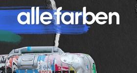 Alle Farben Sticker Suitcase