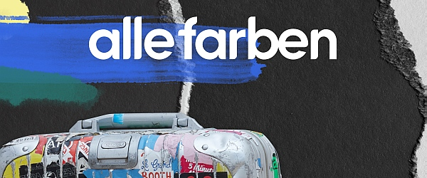 Alle Farben Sticker Suitcase